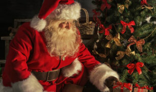 Papá Noel envió un emotivo mensajes a los niños por Navidad