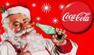 La vestimenta roja de Papá Noel, ¿se debe a la presión de la multinacional Coca-Cola?