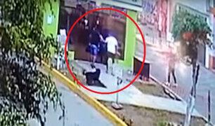 Carapongo: atacan central de cámaras de seguridad y dejan heridos a dos agentes