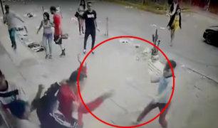 Independencia: pelea de peruanos y extranjeros en cevichería dejó dos heridos