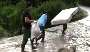 Cusco: 20 comunidades resultaron afectadas por huaico