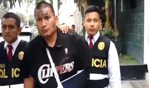 Capturan a uno de los delincuentes que asaltó grifo en Puente Piedra