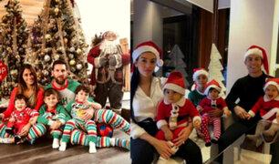 Navidad: así fue la celebración de los futbolistas nacionales e internacionales
