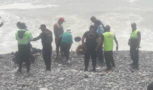 Magdalena: parapente cae en playa Marbella y deja varios heridos