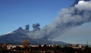 Italia: volcán provoca fuerte sismo y deja al menos 28 heridos