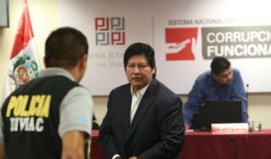 Edwin Oviedo fue trasladado a Chiclayo para cumplir prisión por caso 'Wachiturros de Tumán'