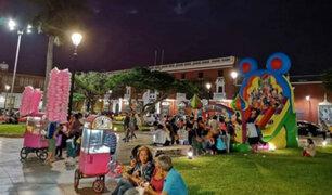 Comercio ambulatorio se apoderó de la Plaza de Armas de Trujillo