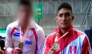 Campeón peruano de lucha grecorromana integraba banda de marcas