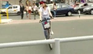 San Isidro: instalación de rejas bloquea ciclovía en av. Javier Prado