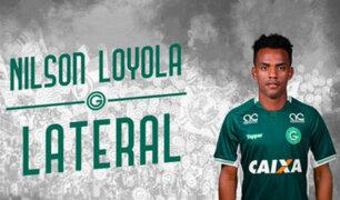 Nilson Loyola ya es del Goiás de Brasil