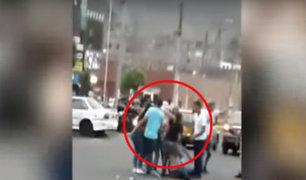 Los Olivos: asistentes a discoteca se pelean y causan destrozos en local