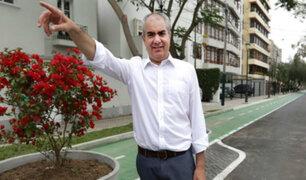 San Isidro: alcalde Velarde saludó fallo del PJ que dejó sin efecto ampliación de Av. Aramburú