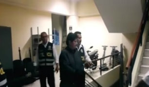 Edwin Oviedo fue recluido en el penal de Picsi para cumplir prisión preventiva