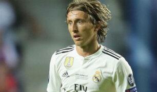 Según medios españoles Modric tendría un pie fuera del Real Madrid