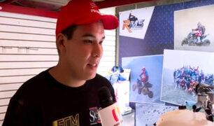 Emilio Choy: conozca  al piloto peruano más joven en el Dakar 2019