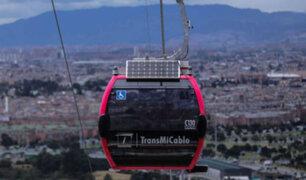 Colombia: inauguran primer teleférico masivo en Bogotá