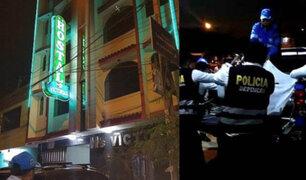 Bellavista: Detienen a extranjero que asaltó y asesinó a recepcionista de hostal