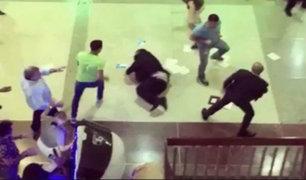 SMP: Hombre denuncia que fue agredido por 10 extranjeros