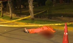 Surquillo: hombre es asesinado en presunto ajuste de cuentas