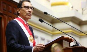 Vizcarra se pronuncia por reemplazo de fiscales a cargo de caso Odebrecht