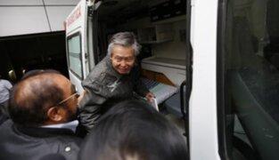 Poder Judicial ordenó custodiar de forma permanente al ex presidente Alberto Fujimori