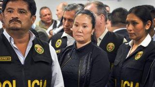 Keiko Fujimori envió carta a bancada de Fuerza Popular desde prisión