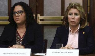 Fiscales de caso 'Los cuellos blancos del puerto' fueron ratificadas en sus cargos