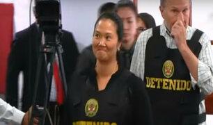 Resumen 2018: dictan 36 meses de prisión preventiva para Keiko Fujimori