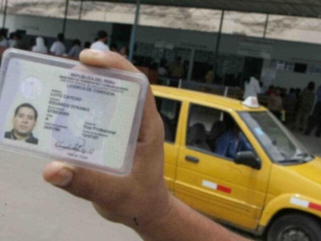 ATENCIÓN: MTC no emitirá nuevas licencias de conducir desde el 1 al 5 de diciembre