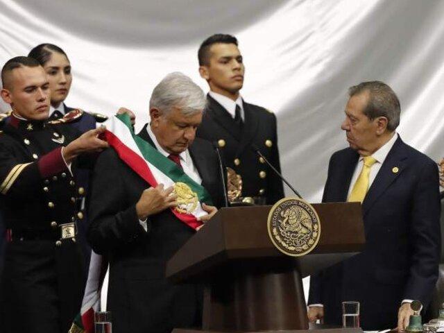 Andrés López Obrador asumió la Presidencia de México