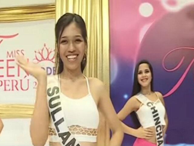 Miss Teen Model 2018: todo listo para este gran certamen