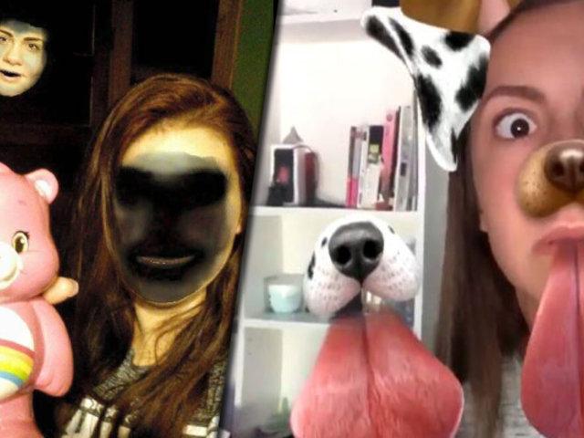 ¿Funciona el Snapchat como un detector de fantasmas?