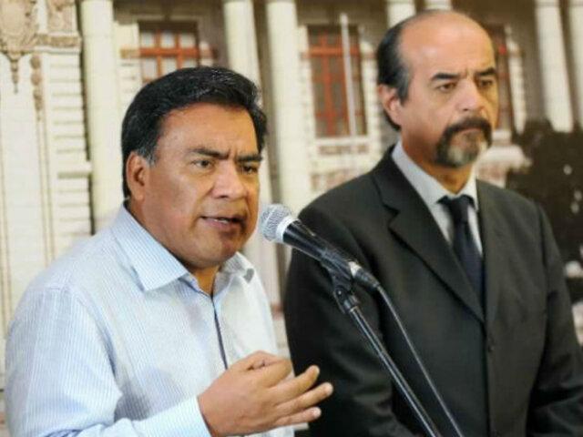Alan García: Bancada se pronunció por su situación y dice que buscan hostigar al Apra