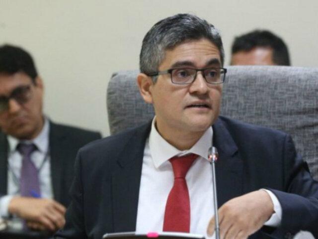 Abrirán proceso disciplinario contra fiscal José Domingo Pérez