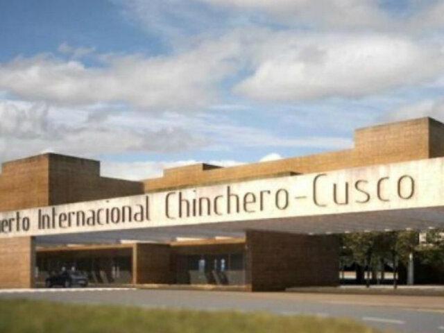 Ciudadanos y autoridades marcharon contra la acción de amparo que frenaría la ejecución de Aeropuerto Chinchero