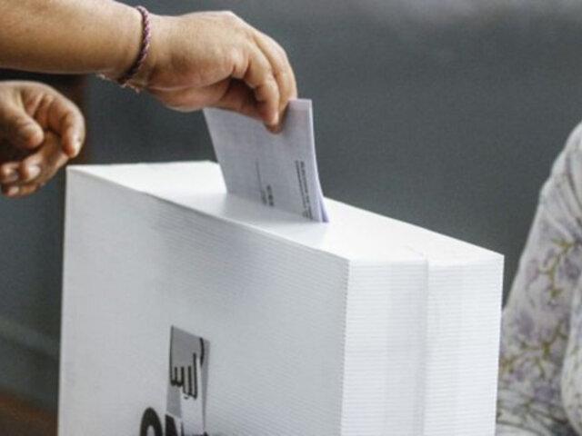 Ipsos: 51% de peruanos aún no define su voto para el Congreso