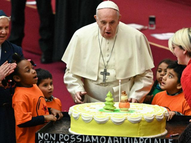 Vaticano: papa Francisco cumplió 82 años