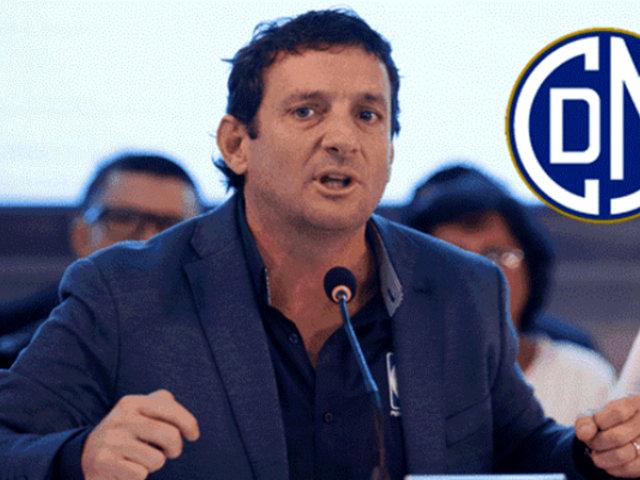 Renzo Reggiardo fue elegido presidente del Club Deportivo Municipal