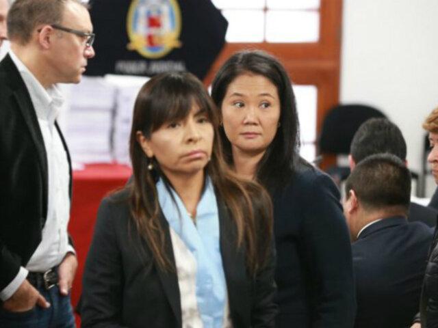 Abogada de Keiko: no hay sustento para que Vladimiro declare sobre campañas