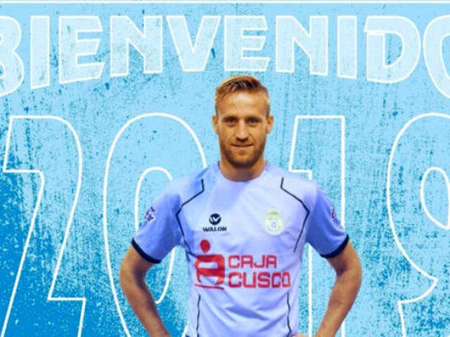 Danilo Carando fue anunciado como nuevo delantero del Real Garcilaso