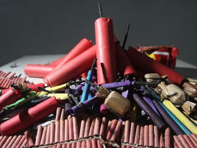 Tres niños graves deja explosión en un puesto de venta de productos pirotécnicos