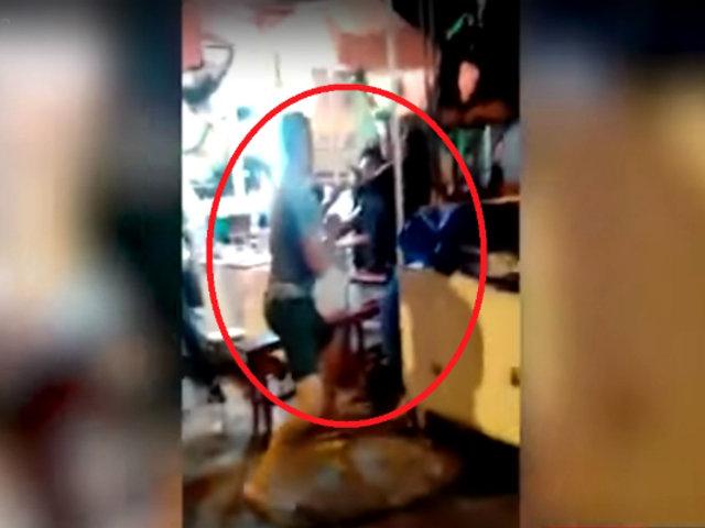 Chosica: ciudadanos extranjeros desatan pelea en feria gastronómica