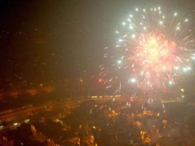 Senamhi: Contaminación del aire en Lima se elevó durante celebraciones por Navidad