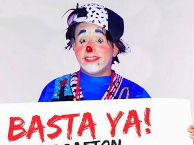 """Facebook: Payaso peruano arrasa diciendo """"basta"""" al reguetón en fiestas infantiles"""