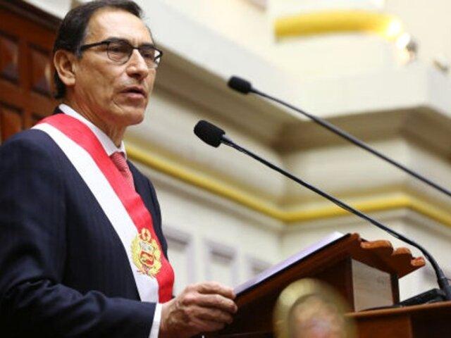 Congresistas opinaron sobre pedido de Chávarry para investigar al presidente Vizcarra