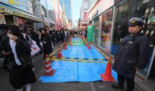 Japón: atropello masivo en plena celebración de Año Nuevo
