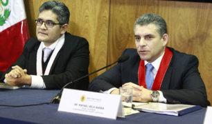 Diario El Peruano: oficializan remoción de fiscales Vela y Pérez