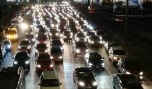 Infracciones de conductores genera mayor caos vehicular en la Panamericana Norte