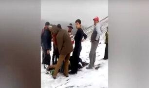 Cusco: mexicano impactado por rayo se encuentra recuperándose en la clínica Peruano Suizo