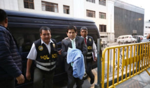 Abel Concha: PJ dicta 18 meses de prisión preventiva contra fiscal